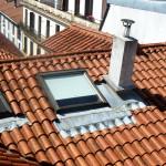 Reparación de tejado con velux
