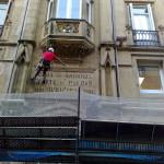 Reparación puntual en fachadas